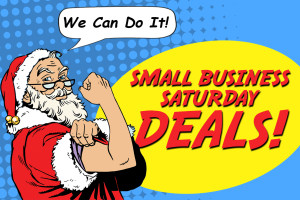 SantaSmallBusinessSaturday